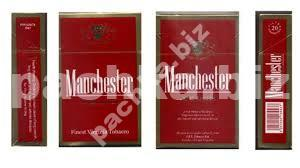 """Сигареты Manchester Red """"King Size"""""""
